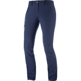 Salomon Wayfarer Tapered Naiset Pitkät housut , sininen